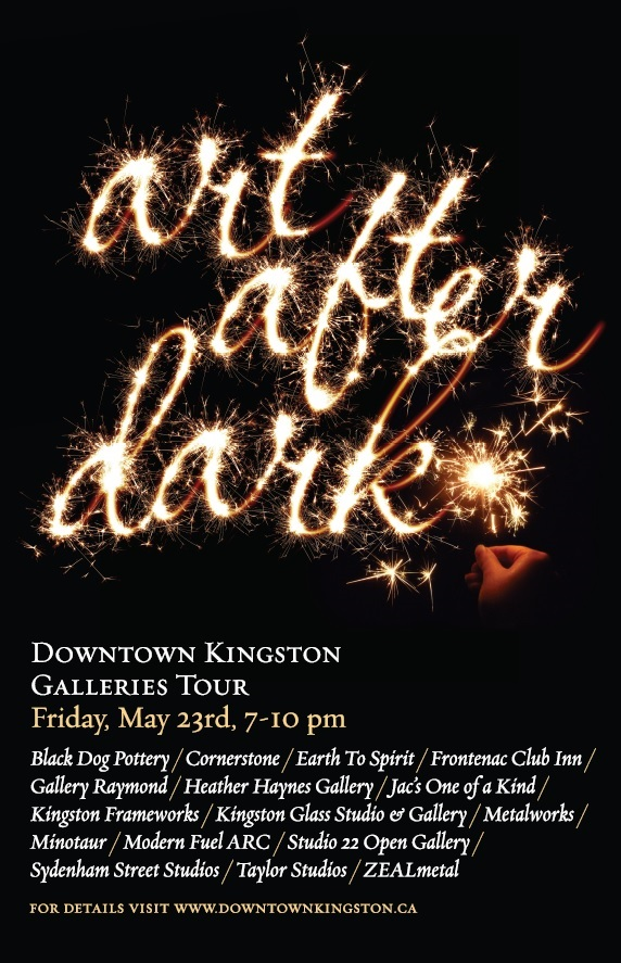 Art After Dark, Kingston Ontario, May 2014